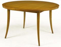 Harvey Probber Harvey Probber Bleached Mahogany Saber Leg Dining Table - 197852