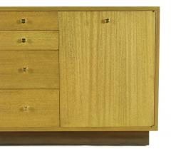Harvey Probber Harvey Probber Bleached Ribbon Mahogany Long Cabinet - 203724