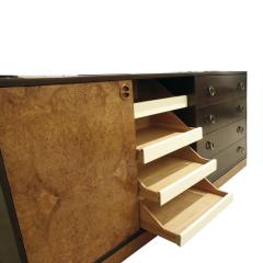 Harvey Probber Harvey Probber Credenza Chest with Carpathian Elm Doors and Base 1950s Signed  - 2072424