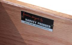 Harvey Probber Harvey Probber Desk in Mahogany 1950s Signed  - 1600580