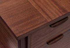 Harvey Probber Harvey Probber Desk in Mahogany 1950s Signed  - 1600581