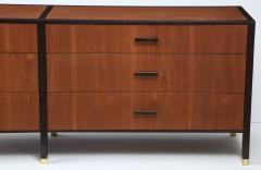 Harvey Probber Harvey Probber Dresser Sideboard Walnut Ebonized Mahogany USA 1950 - 1062449