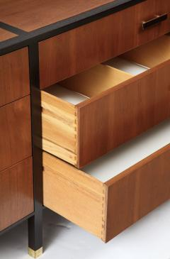 Harvey Probber Harvey Probber Dresser Sideboard Walnut Ebonized Mahogany USA 1950 - 1062453
