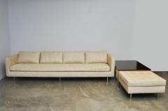 Harvey Probber Harvey Probber Even Arm Sofa on Brass Legs - 1102119