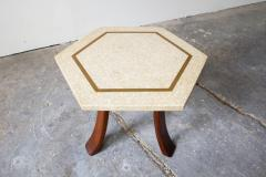 Harvey Probber Harvey Probber Hexagonal Side Table - 219765