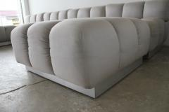 Harvey Probber Harvey Probber Sectional Deep Tufted Modular Sofa 1970s - 1846932