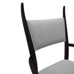Harvey Probber Harvey Probber Set of 8 Sculptural Dining Chairs in Mahogany 1950s - 1273089
