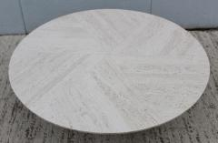 Harvey Probber Harvey Probber Travertine Top Coffee Table - 1773573