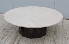 Harvey Probber Harvey Probber Travertine Top Coffee Table - 1773580