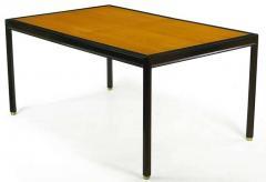 Harvey Probber Harvey Probber Walnut and Mahogany Parsons Dining Table - 278564