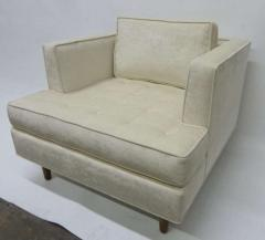 Harvey Probber Pair of Club Chairs with Tufted Seat after Harvey Probber - 228995
