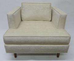 Harvey Probber Pair of Club Chairs with Tufted Seat after Harvey Probber - 228999