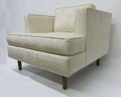 Harvey Probber Pair of Club Chairs with Tufted Seat after Harvey Probber - 229000