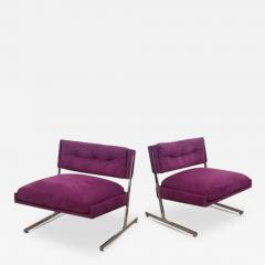 Harvey Probber Pair of Harvey Probber Lounge Chairs - 1461551