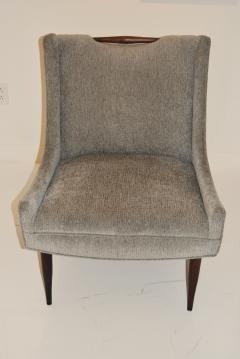 Harvey Probber Pair of Harvey Probber Slipper Chairs - 319676