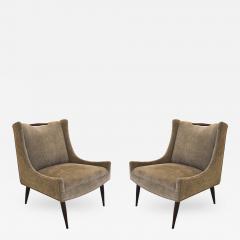 Harvey Probber Pair of Harvey Probber Slipper Chairs - 319944