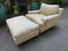 Harvey Probber Rare Pair of Harvey Probber Lounge Chairs and Ottoman Mid Century Modern - 1708481
