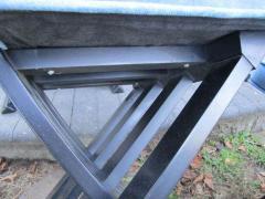 Harvey Probber Set of Six Harvey Probber Ebonized X Base Dining Chairs Mid Century Modern - 1262273