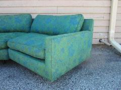 Harvey Probber Stunning 2 Piece Harvey Probber Sectional Sofa Mid century - 1262318