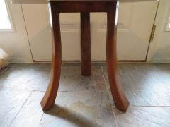 Harvey Probber Stunning Pair of Harvey Probber Brass Inlaid Terrazzo Top Side Tables Midcentury - 1262262