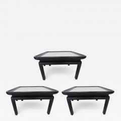 Harvey Probber Stunning Set of Three Harvey Probber Style Marble Side Tables Mid Century Modern - 1791286