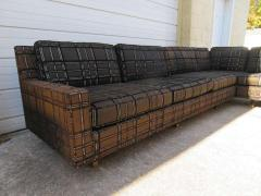 Harvey Probber Stunning Signed Harvey Probber Two Piece Sectional Sofa Mid Century Modern - 1262264