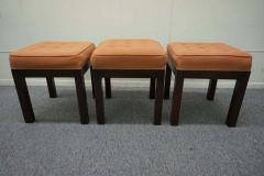 Harvey Probber Stylish Set of Three Harvey Probber Stool Bench Mid Century Modern - 1262297