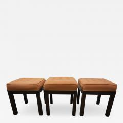 Harvey Probber Stylish Set of Three Harvey Probber Stool Bench Mid Century Modern - 1263379