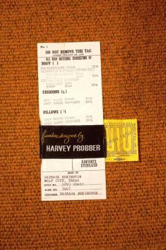 Harvey Probber Swivel Club Chairs Model 1461 by Harvey Probber - 1167249