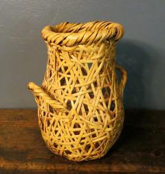 Hayakawa Shokosai IV Japanese Bamboo Basket Ikebana by Hayakawa Shokosai IV - 1092935