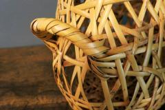 Hayakawa Shokosai IV Japanese Bamboo Basket Ikebana by Hayakawa Shokosai IV - 1092942