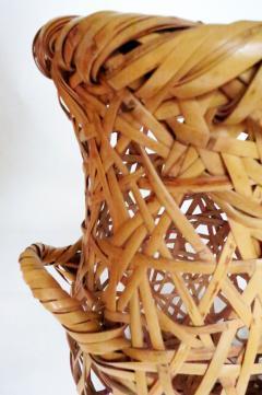 Hayakawa Shokosai IV Japanese Bamboo Basket Ikebana by Hayakawa Shokosai IV - 1092943