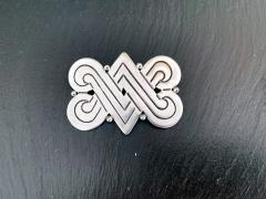 Hector Aguilar A Mexican Sterling Silver Brooch by Hector Aguilar - 928636