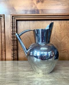 Hector Aguilar Mexican Modernist Silver Pitcher by Hector Aguilar - 1309983