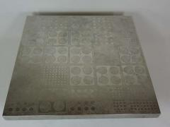 Heinz Lilienthal Etched Metal Coffee Table by Heinz Lilienthal - 388062