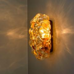 Helena Tynell 1 of 6 Helena Tynell Amber Bubble Wall Sconces 1960s - 1337054