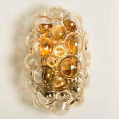 Helena Tynell 1 of 6 Helena Tynell Amber Bubble Wall Sconces 1960s - 1337057