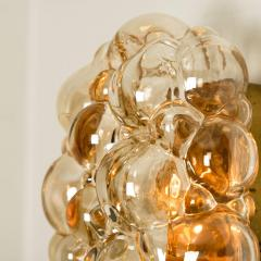 Helena Tynell 1 of 6 Helena Tynell Amber Bubble Wall Sconces 1960s - 1337059