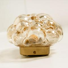 Helena Tynell 1 of 6 Helena Tynell Amber Bubble Wall Sconces 1960s - 1337070