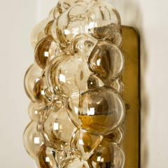 Helena Tynell 1 of 6 Helena Tynell Amber Bubble Wall Sconces 1960s - 1337073