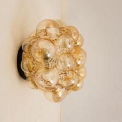 Helena Tynell 1 of the 12 Helena Tynell Amber Bubble Flushmounts Wall Sconces 1960s - 1314897