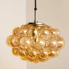 Helena Tynell 1 of the 12 Helena Tynell Amber Bubble Flushmounts Wall Sconces 1960s - 1314901