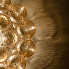 Helena Tynell 1 of the 12 Helena Tynell Amber Bubble Flushmounts Wall Sconces 1960s - 1314902