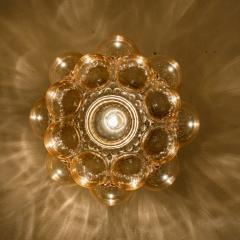 Helena Tynell 1 of the 12 Helena Tynell Amber Bubble Flushmounts Wall Sconces 1960s - 1314911