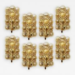 Helena Tynell Large Quantity Glass Wall Lights Sconces by Helena Tynell for Glash tte 1960 - 1320892
