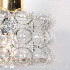 Helena Tynell Pair of Beautiful Bubble Glass Pendant Lamps by Helena Tynell 1960 - 1318521