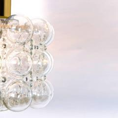 Helena Tynell Pair of Beautiful Bubble Glass Pendant Lamps by Helena Tynell 1960 - 1318522