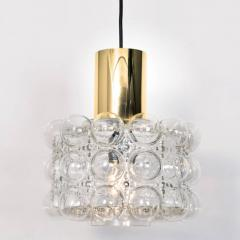 Helena Tynell Pair of Beautiful Bubble Glass Pendant Lamps by Helena Tynell 1960 - 1318523