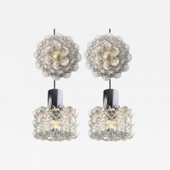 Helena Tynell Set of Four Bubble Glass Fixtures Designed by Helena Tynell for Glash tte - 977433
