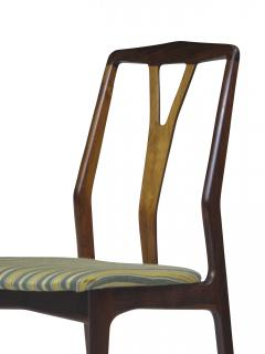 Helge Vestergaard Jensen Helge Vestergaard Jensen Attributed Danish Rosewood Dining Chairs - 530925